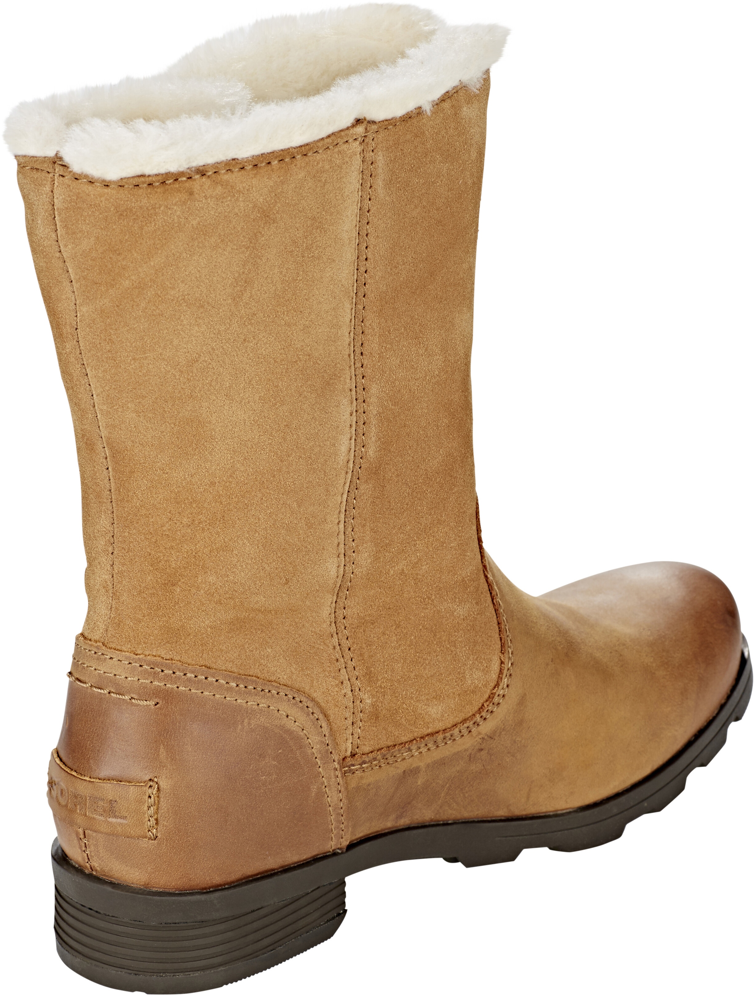 426b65351a0ef1 Sorel Emelie Foldover Boots Women Camel Brown